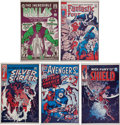 Memorabilia:Poster, Marvel Silver Age Cover Posters Group (Supergraphics, c. 1973)....(Total: 5 Items)