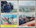 "Movie Posters:War, The Blue Max (20th Century Fox, 1966). Title Lobby Card and LobbyCards (3) (11"" X 14"") and Photo (8"" X 10""). War.. ... (Total: 5Items)"