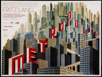 "Metropolis (UFA, R-2010). British Quad (30"" X 40"") DS. Science Fiction"