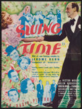 "Movie Posters:Musical, Swing Time (RKO, 1936). Herald (8.75"" X 11.75"", Unfolded).Musical.. ..."