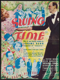 "Swing Time (RKO, 1936). Herald (8.75"" X 11.75"", Unfolded). Musical"