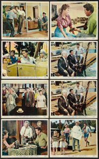 """Follow That Dream (United Artists, 1962). British Front of House Photos Set of 8 (8"""" X 10""""). Elvis Presley..."""