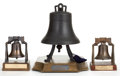 Movie/TV Memorabilia:Memorabilia, A Small Liberty Bell Replica, 1969.... (Total: 4 Items)