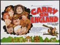 "Movie Posters:Comedy, Carry On England (Rank, 1976). British Quad (30"" X 40""). Comedy....."
