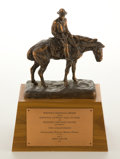 "Movie/TV Memorabilia:Memorabilia, A Trophy for ""The Comancheros,"" 1961...."