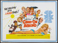 "Movie Posters:Comedy, Carry On Abroad (Rank, 1972). British Quad (30"" X 40""). Comedy....."