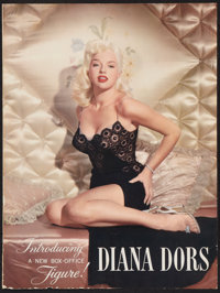 "Diana Dors in ""The Unholy Wife"" (RKO, 1957). Double Sided Trade Ad (9.25"" X 12.5""). Crime"