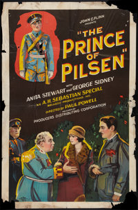 "The Prince of Pilsen (Producers Distributing Corp., 1926). One Sheet (27"" X 41"") Style A. Comedy"