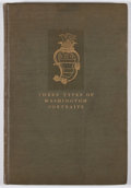 Books:First Editions, Charles Allen Munn. INSCRIBED/LIMITED. Three Types of WashingtonPortraits. New York: Privately Printed, 1908. First...