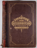 Books:First Editions, D. Hamilton Hurd. History of Fairfield County, Connecticut.Philadelphia: J. W. Lewis, 1881. First edition. Quar...
