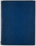 Books:First Editions, [Odilon Redon]. Arthur Symons. A Painter of Phantasies andDreams. [New York]: [Conde Nast], 1916. First edition. Qu...
