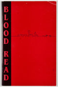 Books:First Editions, Neils. Blood Read. [San Antonio: Three Feather Books, 1994].First edition, first printing. Octavo. Publisher's wrap...
