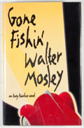 Books:Signed Editions, Walter Mosley. INSCRIBED. Gone Fishin'. Baltimore: Black Classic Press, [1997]. First edition, first printing. Ins...