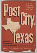 Books:First Editions, Charles Dudley Eaves and C. A. Hutchinson. Post City, Texas: C.W. Post's Colonizing Activities in West Texas. Austi...