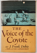 Books:First Editions, J. Frank Dobie. The Voice of the Coyote. Boston: Little,Brown, 1949. First edition. Octavo. Publisher's binding and...