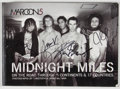 Books:Signed Editions, Maroon 5. SIGNED. Midnight Miles. New York: MTV books, [2006]. First edition, first printing. Signed by all five b...