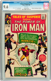 Tales of Suspense #57 (Marvel, 1964) CGC NM+ 9.6 White pages