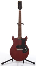 Musical Instruments:Electric Guitars, 1965 Gibson Melody Maker Cherry Electric Solid Body Guitar, #318222....