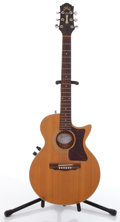 Musical Instruments:Electric Guitars, 1990 Guild Songbird Natural Electric Guitar #KK000283....