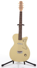 Musical Instruments:Electric Guitars, Reissue Danelectro Lime Semi-Hollow Body Electric Guitar #N/A...