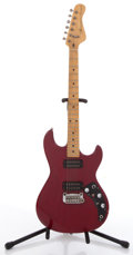 Musical Instruments:Electric Guitars, G & L F-100 Red Solid Body Electric Guitar, #N/A....