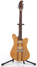 Musical Instruments:Electric Guitars, Martin EM18 Natural Solid Body Electric Guitar, #2898....