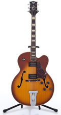 Musical Instruments:Electric Guitars, Hondo II HL 5BS Sunburst Archtop Electric Guitar, #N/A....