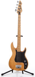 Musical Instruments:Bass Guitars, Peavey Fury Natural Electric Bass Guitar #016644446...