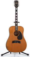 Musical Instruments:Acoustic Guitars, Gibson Heritage 1973-75 Natural Acoustic Guitar #A160888...