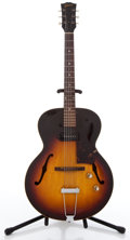 Musical Instruments:Electric Guitars, 1961 Gibson ES-125 Sunburst Archtop Electric Guitar #2759...