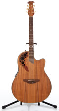 Musical Instruments:Acoustic Guitars, 1990s Ovation Celebrity CS347 Natural Acoustic Guitar #5008958...