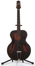 Musical Instruments:Acoustic Guitars, 1940s Gretsch Model 35 Sunburst Archtop Acoustic Guitar ...