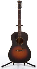 Musical Instruments:Acoustic Guitars, 1950s Gibson LG-2 Sunburst Acoustic Guitar ...