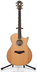 Musical Instruments:Acoustic Guitars, 2000s Taylor DDSM Doyle Dykes Signature Natural Acoustic ElectricGuitar #20040318130...