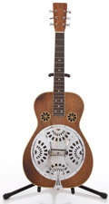 Musical Instruments:Acoustic Guitars, Unknown Year PBR Brown Stain Resonator Guitar #122...