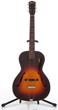 Musical Instruments:Acoustic Guitars, 1934 Gibson L-50 Sunburst Archtop Acoustic Guitar, #N/A....
