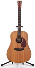 Musical Instruments:Acoustic Guitars, 2000 Martin DX1 Natural Acoustic Guitar #817093....
