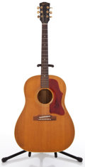 Musical Instruments:Acoustic Guitars, 1965 Gibson J-50 Natural Acoustic Guitar #365324....