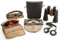 Movie/TV Memorabilia:Memorabilia, A Group of Goggles, 1950s-1970s.... (Total: 5 Items)