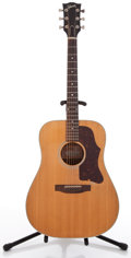 Musical Instruments:Acoustic Guitars, 1977 Gibson J-45 Natural Acoustic Guitar, #72717089....