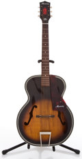 Musical Instruments:Acoustic Guitars, 1960's Harmony H1213 Sunburst Archtop Acoustic Guitar#3790H1213....