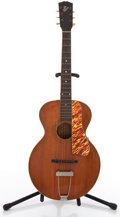 Musical Instruments:Acoustic Guitars, Vintage Gibson Archtop Acoustic Guitar #N/A....