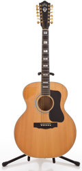 Musical Instruments:Acoustic Guitars, 1970's Guild F412 Natural 12 String Acoustic Guitar #90831....