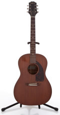 Musical Instruments:Acoustic Guitars, 1960's Epiphone FT-30 Caballero Brown Stain Acoustic Guitar, #56578....