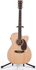 Musical Instruments:Acoustic Guitars, 2008 Martin 000C-16RGTE Natural Acoustic Electric Guitar,#13627146....
