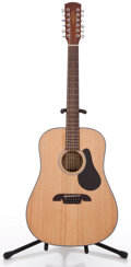 Musical Instruments:Acoustic Guitars, Alvarez RD20S12 Natural 12 String Acoustic Guitar, #F606200100....