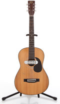 Musical Instruments:Acoustic Guitars, 1960s Kay K-280 Natural Acoustic Electric Guitar ...