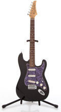 Musical Instruments:Electric Guitars, 2000s Eastwood Black Solid Body Electric Guitar ...