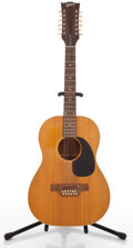 Musical Instruments:Acoustic Guitars, 1970-72 Gibson B-25-12N Natural 12 String Acoustic Guitar ...