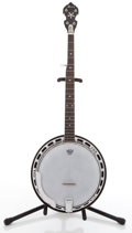 Musical Instruments:Banjos, Mandolins, & Ukes, Alvarez Custom Long Neck Walnut 5 String Banjo #N/A....